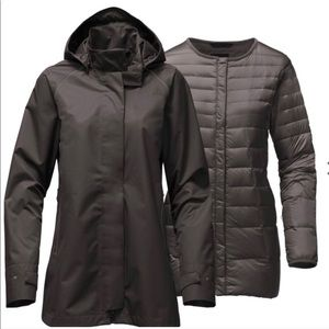 The north face women's mosswood 2 in 1 NWOT